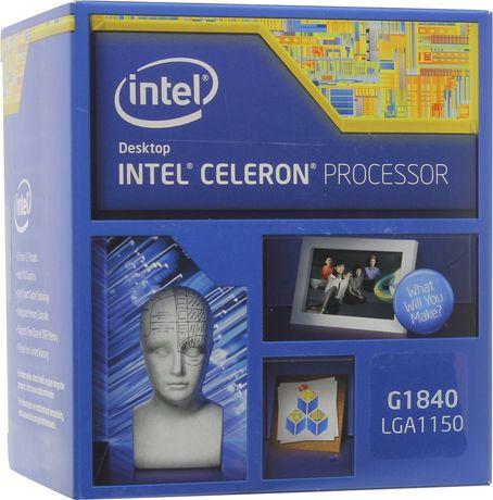 Процессор Intel celeron lga1150 g1840 с куллером в каробке