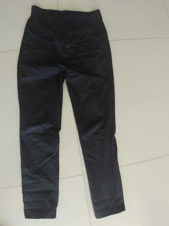 Spodnie ciazowe czarne. H&M mama. Rozm 36.