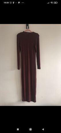 Długa super elastyczna sukienka Urban Classics