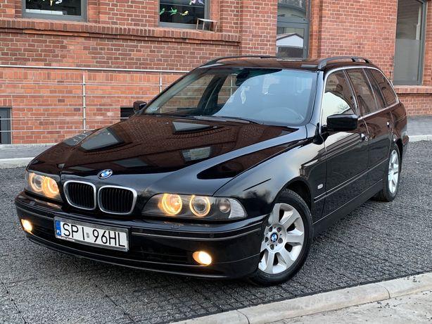 BMW E39 touring 2.0D 2003 rok, Lift, Bogate wyposażenie
