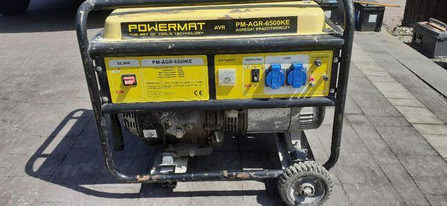 Agregat prądotwórczy 6,5kw PM-AGR-6500KE-K