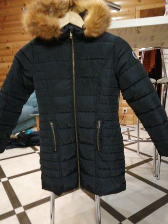 Зимняя курточка некст для девочки