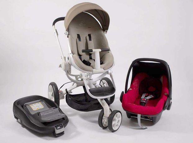 Trio Ovo Bebé Confort + Base isofix da Bebé Confort + Carrinho bebe