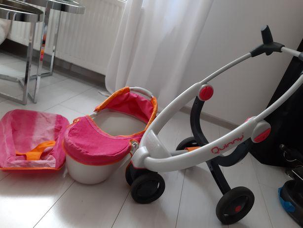 Wózek dla lalek smoby maxi cosi quinny  3w1.