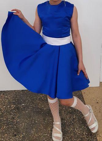 Красивое платье в стиле стиляги