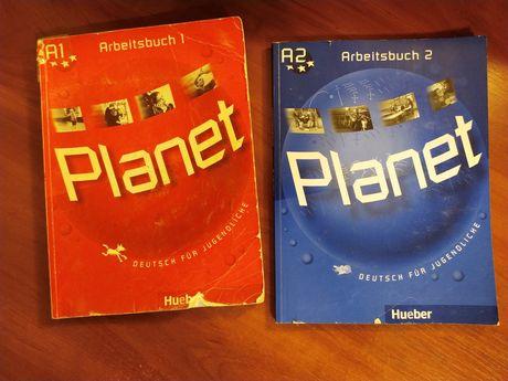 Рабочие тетради Planet A1- A2. Цена за две тетради