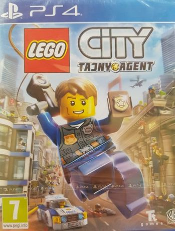 Lego City: Tajny Agent PLayStation 4 Nowa PL Kraków