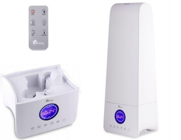 Nowy Nawilżacz Powietrza OVERMAX AERI 4.0 Higrometr LCD do Garażu Domu
