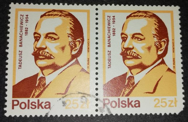 ZNACZEK Tadeusz Banachiewicz 1882 r - 1954 r