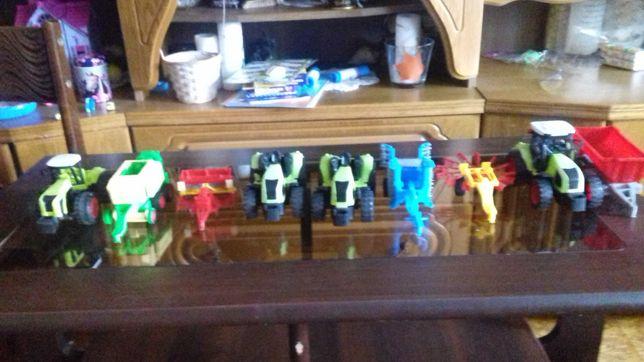 Zabawki rolnicze Traktorki Maszyny