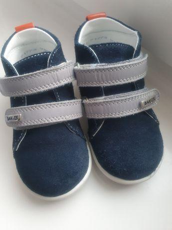 Trzewiki Bartek Mini First Steps dla chłopca r. 21