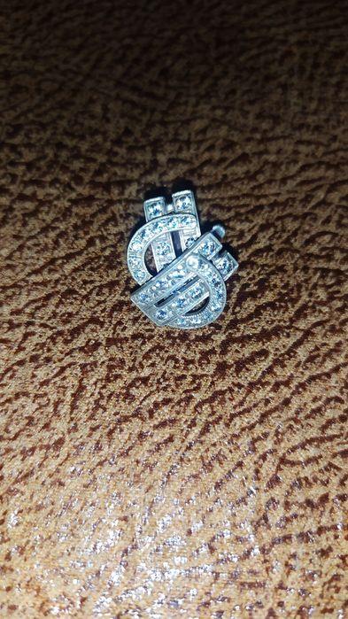 Продам серёжки и колечко,серебро Геническ - изображение 1