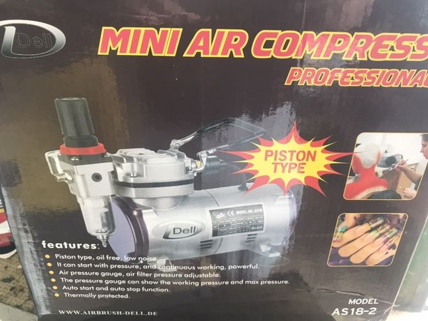 Mini compressor aerografia
