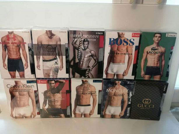 Bokserki Tommy CK Lacoste Boss Plein Moncler Gucci Versace Guess