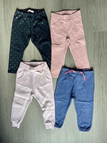 Lote 4 calças menina 12-18m