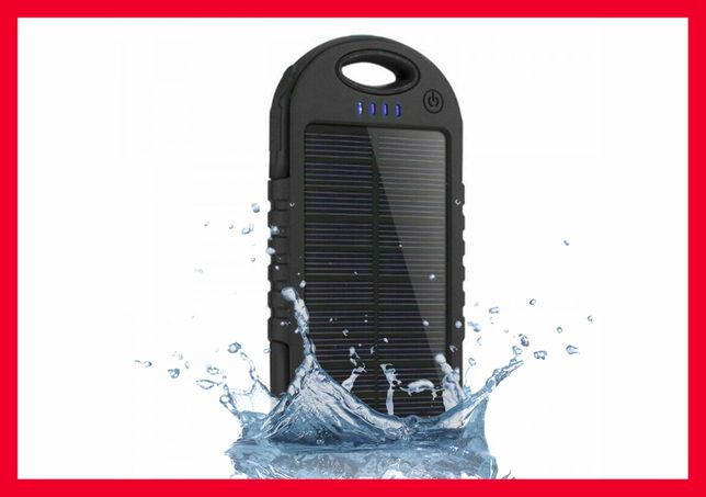 Solar PowerBank 30000 mah Повербанк Солнечная батарея Противоударный
