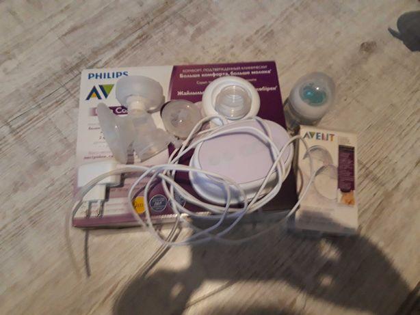 Laktator Avent kabel i baterie użyty kilka razy