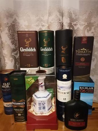 Коробки от элитного алкоголя