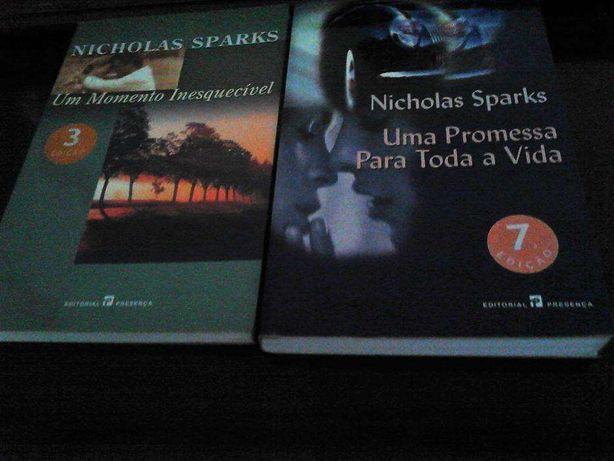 Livros de Nicholas Sparks