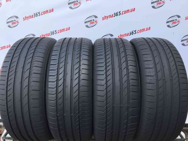 235/50 R19 CONTINENTAL SPORTCONTACT 5 (6,51mm) Літо 225/245/40/45/55