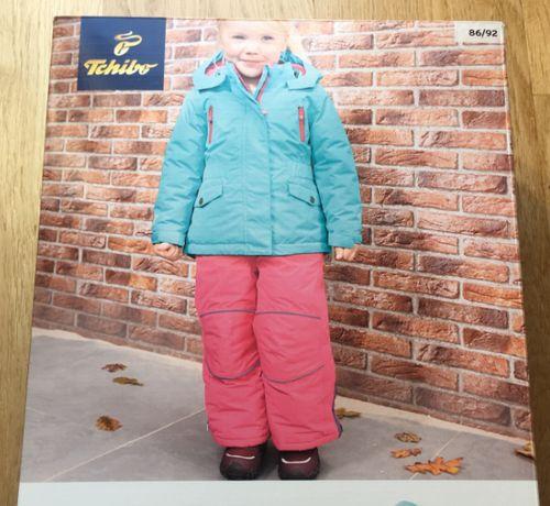 Zestaw zimowy (kurtka + spodnie) 86/92