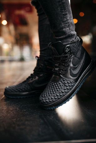 "Зимние кроссовки Nike Lunar Force DuckBoot 17 ""Black"