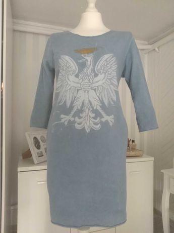 Sukienka z orłem