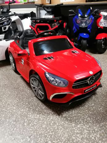 Samochód Mercedes SL63 Miękkie koła Eva fotel skóra Odbiór Wysyłka