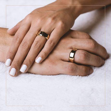 Złote Obrączki Ślubne - Piękny Symbol Miłości!