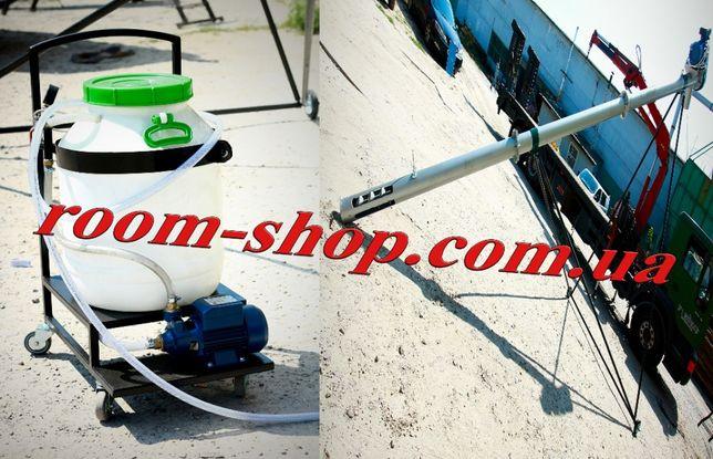 Шнековый конвейер, погрузчик, транспортер, протравитель, протруювач