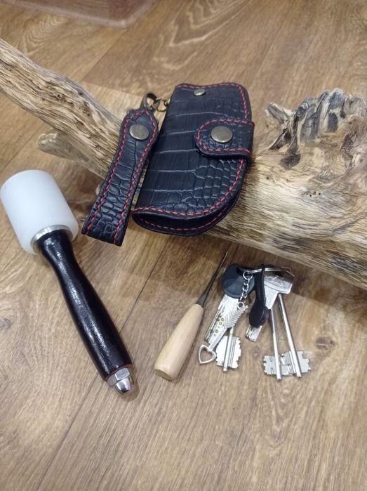 Ключница из кожи ручная работа.. Каховка - изображение 1