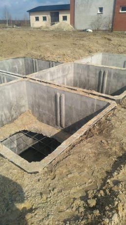 Zbiornik Betonowy na gnojowice szambo betonowe odchody ścieki-13tyś l