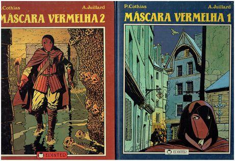 11677  Máscara Vermelha (3 vols)