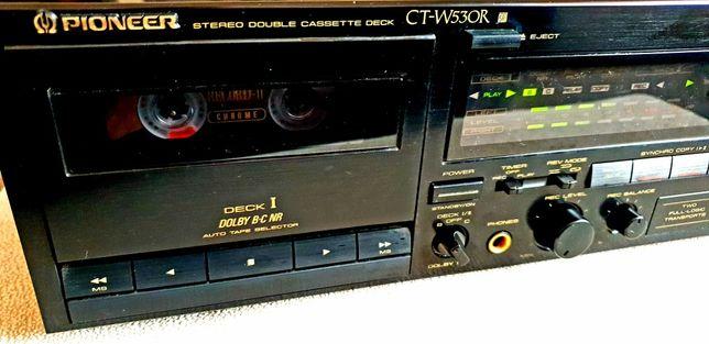 Deck / Leitor de Cassetes PIONEER Duplo CT-W530R (RESERVADO)