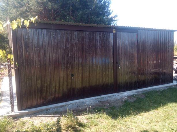 GARAŻE blaszane PRODUCENT blaszaki na budowę domki Radzyń Podlaski