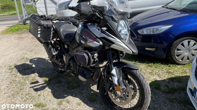 Suzuki DL motocykl salon Polska podgrzewane manetki