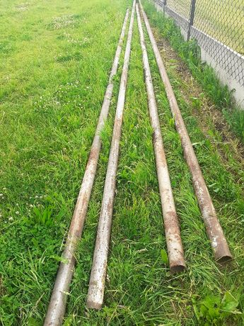 Rury stalowe grube średnica 10cm