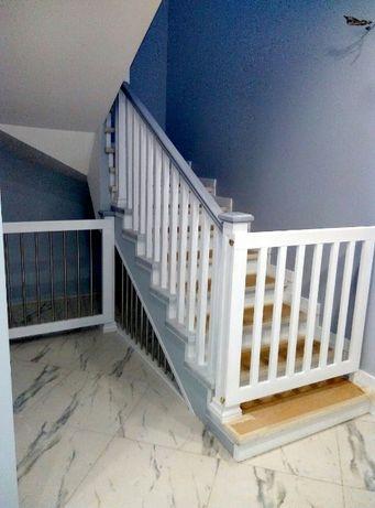 Лестницы,дерево,ступени,перила,поручни