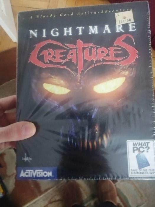 Nightmare Creatures Big Box nowy w folii. Krzeszowice - image 1