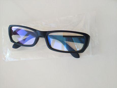 защитные компьютерные имиджевые очки антиблик для стиля имиджа нулевки