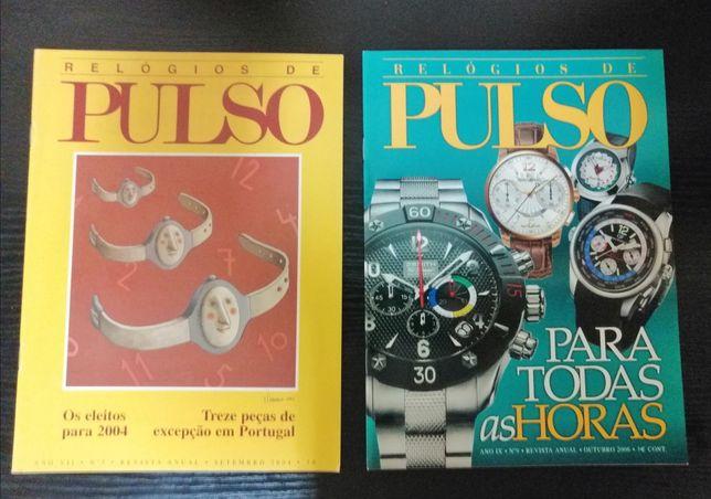 Revistas Relógios de Pulso