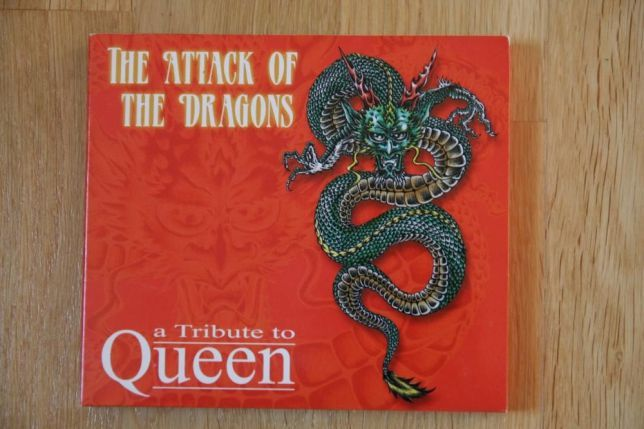CD - Tribute to Queen - The Attack of the Dragons