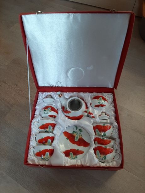 Zestaw kawowo-herbaciany MAKI Yamasen Fine Porcelain 24 Gold Collectio