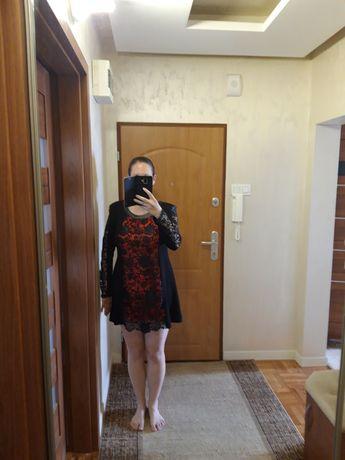 Elegancka sukienka polskiej marki Infinite r. 42 L, XL