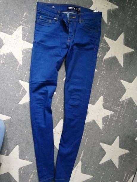 Spodnie męskie jeansowe pull bear, new york