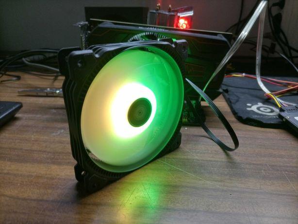 Fan 120mm RGB 4pin 1500rpm ( Nova )