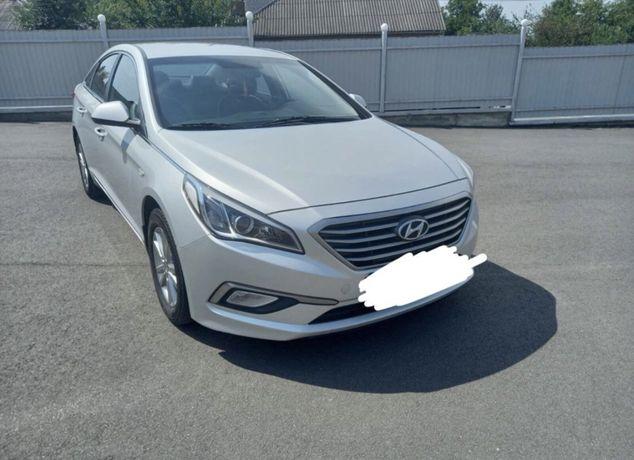 Автопрокат. Hyundai Sonata 2016. Газ/бензин. Аренда авто