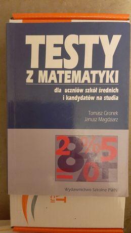 Testy z matematyki dla uczniów szkół średnich i ...