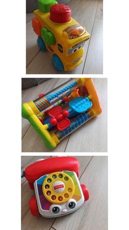 23 Zabawki dla niemowlaka Dumel Discovery,Fisher Price, Lamaze, Chicco