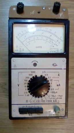 Советский мультиметр Ц4315. Полностью рабочий.